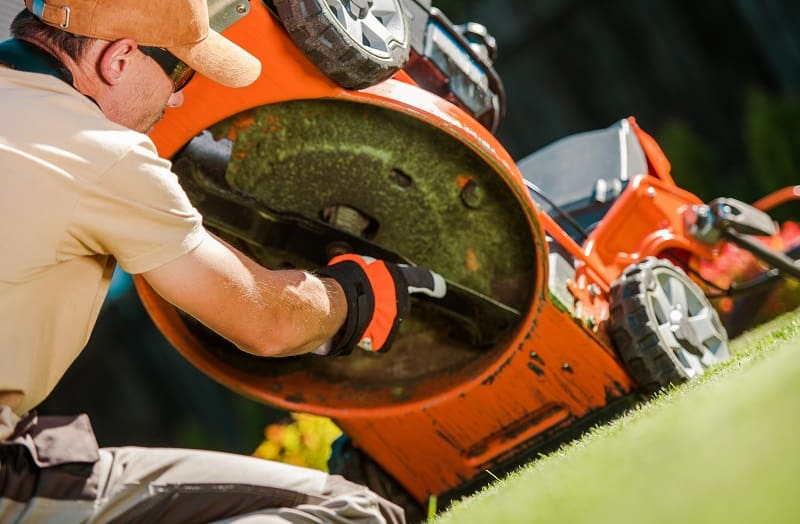 What Causes A Riding Lawn Mower To Cut Uneven