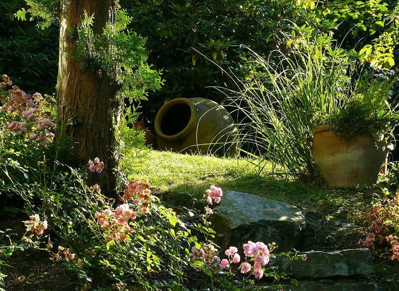 how to hide a well cover in your yard